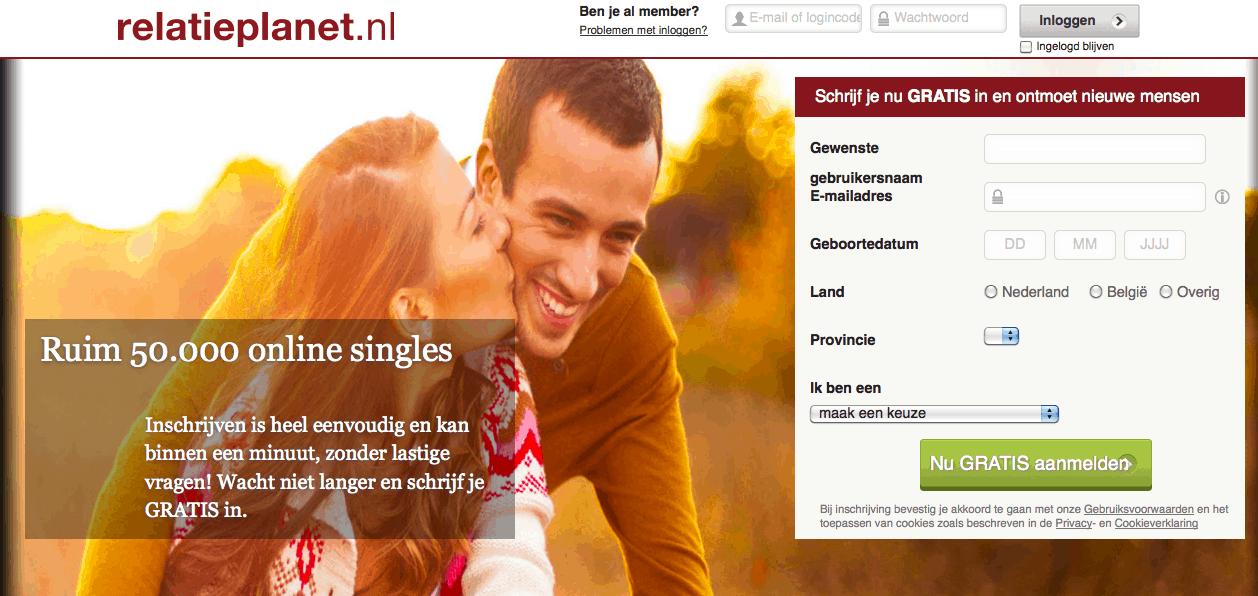 gratis datingsite zonder kosten Nieuwegein