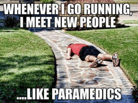 Hardlopen en nieuwe mensen ontmoeten