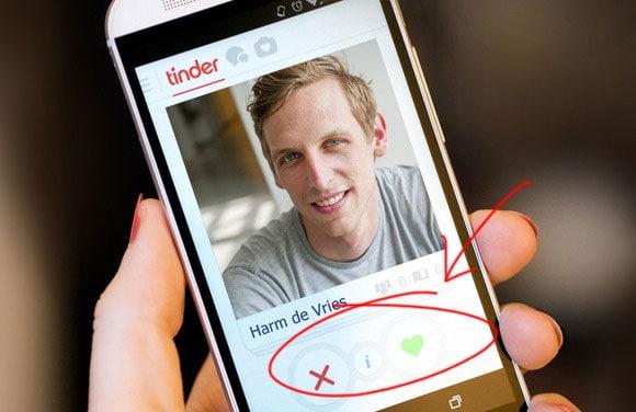 Hoe werkt Tinder: vegen of icoontjes