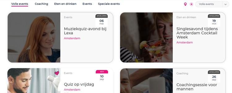 Lexa events