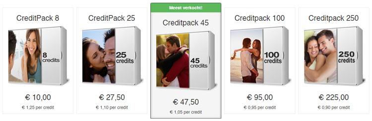 Credit pakketten