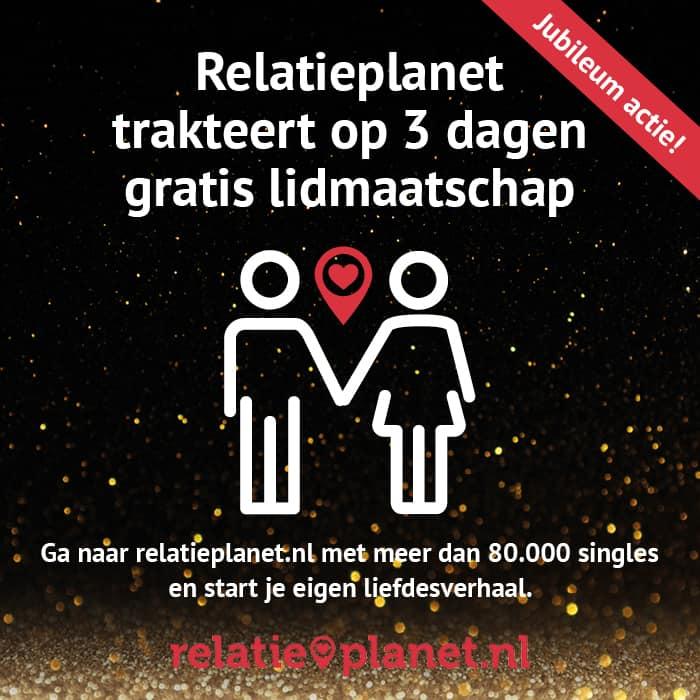 Relatieplanet.nl: 3 dagen gratis