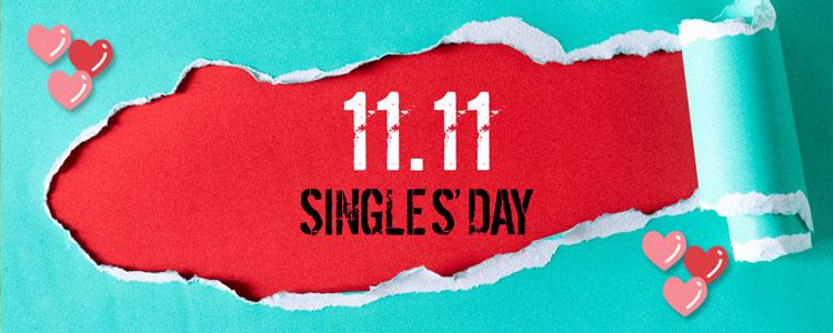 Singles day aanbiedingen