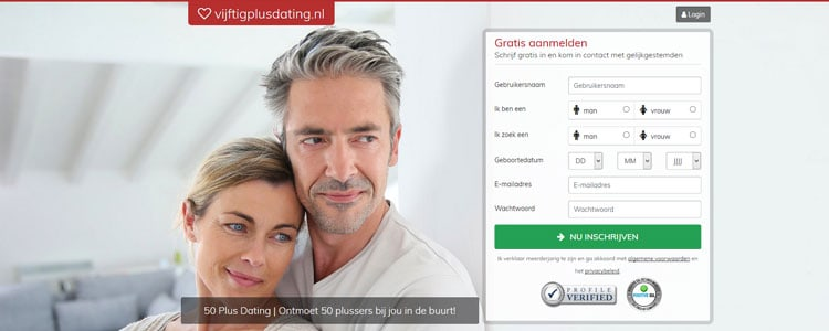 50 plus dating voor 50 plusser